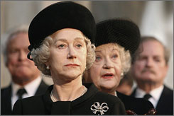 Regal performance: Helen Mirren's Elizabeth II won an acting Oscar.