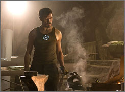He is Iron Man: Robert Downey Jr.'s struggles with substance abuse echo the problems faced by the character he'll play.