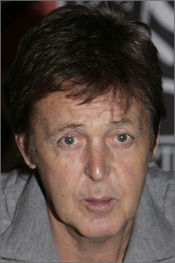"""The album is evocative, emotional, rocking, but I can't really sum it up in one sentence,"" McCartney says of his upcoming album,  Memory Almost Full."