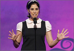 Sarah Silverman, who hosted the 2006 Independent Spirit Awards,  will lend her quirky sense of humor to the MTV Movie Awards this year.