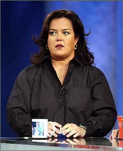 "Rosie O'Donnell promises an update on her future plans ""very soon."""