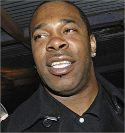 Rapper Busta Rhymes is expected to be arraigned today on charges of driving while impaired by alcohol.