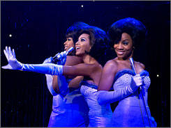 Supreme scenes: Jennifer Hudson, Beyonce and Anika Non-i Rose in Dreamgirls.