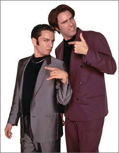 In the '90s: Chris Kattan, left, and Will Ferrell were among the stars who made the decade for SNL.
