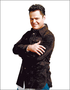 Donny Osmond: Keeps on singing Love Songs of the '70s.