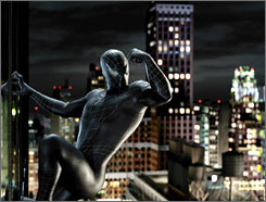 Muscle: Spider-Man 3 should snare at least $100 million when it opens today.