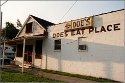In Greenville, Miss.: Doe's takes honors for one of America's Classics restaurants.