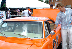 Dukes of Hazzard star  John Schneider will be hanging on to the General Lee a little longer after a nearly $10 million e-Bay bid went bust.