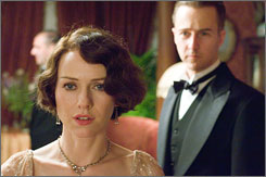 Loveless: Naomi Watts and Edward Norton play an English couple in The Painted Veil.