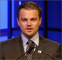 Leonardo DiCaprio recently earned another Oscar nomination for his role as a smuggler in Blood Diamond.