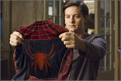 Despite a 60% decrease from its opening weekend, Spider-Man 3 is still holding on to the No. 1 box office spot.