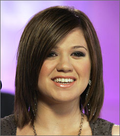 """You know what it is: This situation is just blown up,"" Kelly Clarkson told AP Television News. ""This record is no different from my other records. Every record I've come out with, people have not liked."""