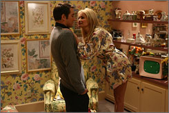 The flower of the fall lineup: Lee Pace and Kristin Chenoweth star in ABC's dark comedy Pushing Daisies.