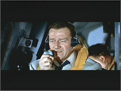 The High and the Mighty: Co-pilot to the rescue after a trans-Pacific airliner's engine problems unnerve the pilot.