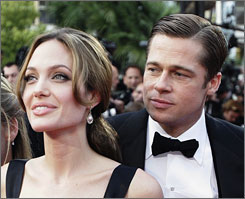 A Mighty Heart: The film, showing at Cannes, was produced by Brad Pitt and stars Angelina Jolie as Mariane Pearl.
