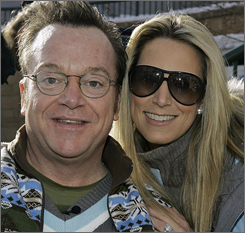 Tom Arnold and his third wife, Shelby Roos, are splitting after five years.