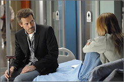 Hugh Laurie stars as a brilliant doctor with a cantankerous bedside manner in the hit series House.