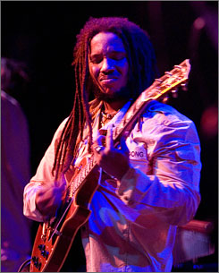 The family that plays together: Stephen Marley, yet another talented son of the late reggae legend Bob Marley, is out with his first solo album.