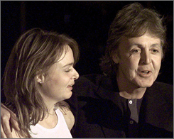 "How did Paul McCartney get Natalie Portman to star in his video? Simple. It helps to have a fashion designer daughter: "" I rang her up and said, 'Hey, I'm Stella's dad!'"""