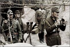 Letters From Iwo Jima: Ken Kensei, left, Masashi Nagadoi, Hiroshi Watanabe and Ken Watanabe.