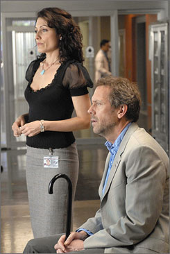 "Who's coming back? Hugh Laurie's Dr. House has to be. And what of Lisa Edelstein's Dr. Cuddy? ""They don't tell me anything,"" she jokes."