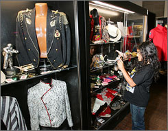 More than 1,100 pieces of Jackson family memorabilia went on the auction block.