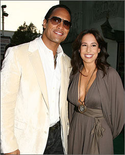 "Dwayne ""The Rock"" Johnson and his wife, Dany Garcia Johnson, were married 10 years."