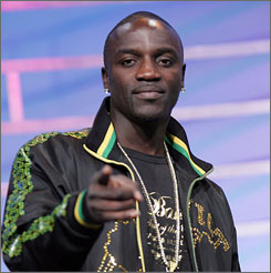 This isn't the first time Akon has raised eyebrows during a live performance. He enraged Trinidad citizens during an April 12 concert when he danced suggestively with a 14-year-old girl.