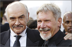 """I thought long and hard about it, and if anything could have pulled me out of retirement, it would have been an Indiana Jones film,"" Connery said in a statement Thursday.  ""But in the end, retirement is just too damned much fun."""