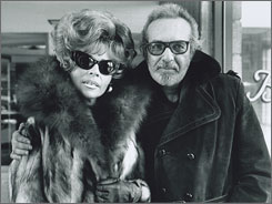 In 1977: Linda Riss and Burt Pugach, 18 years after he had his future wife blinded.