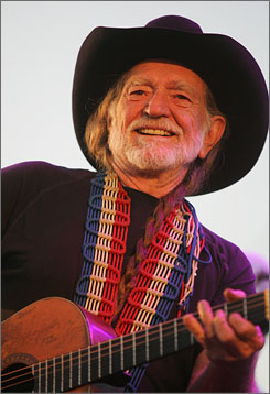 """We're so happy that y'all have invited us, Farm Aid, to New York City,"" Willie Nelson said. ""More people eat probably around here than anywhere in the world."""