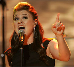 """I love my friends and family,"" Kelly Clarkson said. ""But I have never said the words 'I love you' to anyone in a romantic relationship. Ever."""