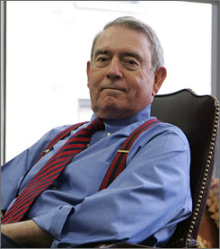 """Dan Rather is taking heat after commenting that The CBS Evening News had erred in taking the evening news broadcast and """"dumbing it down, tarting it up."""""""