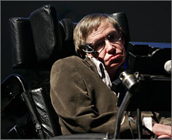 Stephen Hawking's upcoming book, George's Secret Key to the Universe, is about a young man's computer-driven adventures.