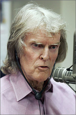 """Don Imus was fired from WFAN-AM (and his syndicated outlets) for calling the Rutgers women's basketball team """"nappy-headed hos."""""""