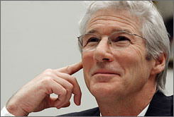 Richard Gere, a native of Philadelphia, will receive the city's Marian Anderson Award, given each year to an artist or performer for their humanitarian work.