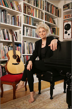 &quot;Everybody has a story&quot;: Singer/songwriter Judy Collins' son, Clark, committed suicide in 1992. Since then, she has written books about coping with tragic loss.