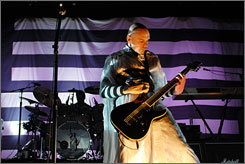 Coming to Bayou country: Billy Corgan of the reunited Smashing Pumpkins.