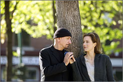 Drunk on love: Ben Kingsley, an alcoholic hit man, meets Tea Leoni along his road to sobriety.