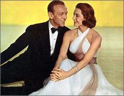 Remake of Garbo film: Fred Astaire and Cyd Charisse in Silk Stockings.