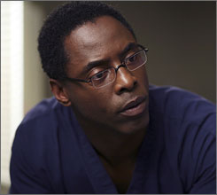 More to it?: Isaiah Washington, who played Dr. Preston Burke but was fired after using a homophobic slur on the show's set, told Newsweek he believes his race was a factor in ABC's decision to dismiss him.