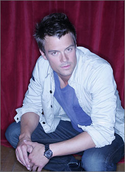 Homebody: Duhamel recently bought a home in Los Angeles with his girlfriend, Fergie of the Black Eyed Peas.