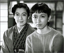 In the Twilight: Setsuko Hara, left, and Ineko Arima.