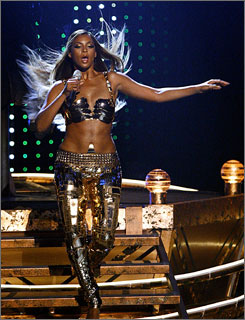 First stop: Beyonce, performing at last week's BET Awards, will start her tour at Essence.