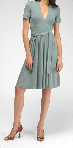 Fit to be tied: Scharke's Sash dress sells for $285 at Searle.