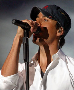 Iglesias' Wednesday show marked the first by a Western pop star in Syria in over 30 years.