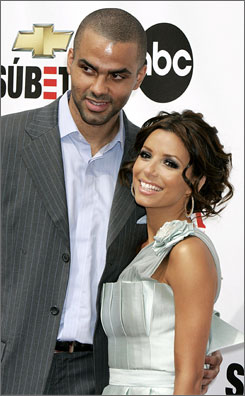 NBA player Tony Parker and Desperate Housewives star Eva Longoria are one of thousands of couples set to tie the knot on 07/07/07.