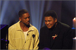 Telethon for 9/11 families: Will Smith, Muhammad Ali.