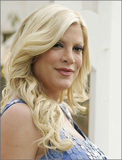 """Yep, that's right. ... Reverend Tori Spelling! I did it last week online and my official certificate is in the mail. I'm so proud,"" the 34-year-old actress said."