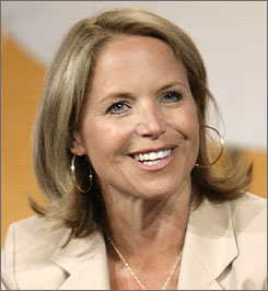 Katie Couric has a five-year contract with CBS as the evening news anchor.